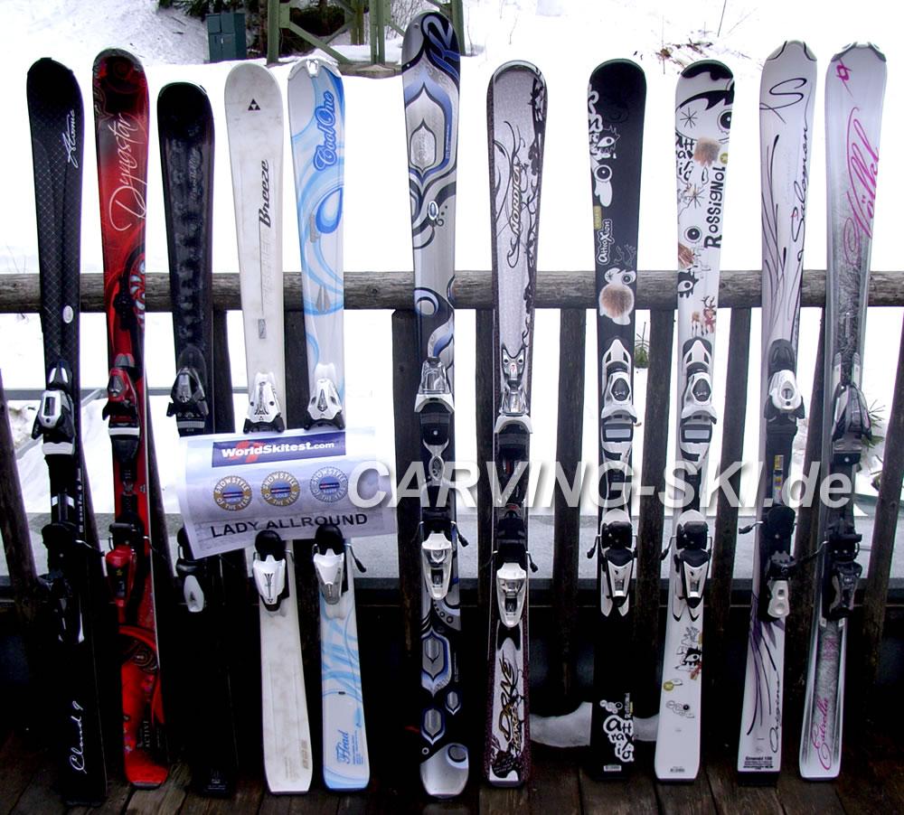 Carving ski worldskitest skitest